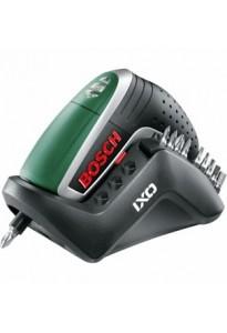 Bosch Avvitatore IXO IV con batteria al Litio e caricabatteria