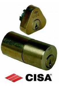 Cilindro CISA in ottone per serratura chiave porta art.02106